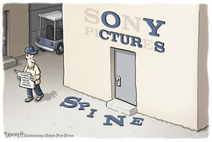 sony pictures has lost it's spine