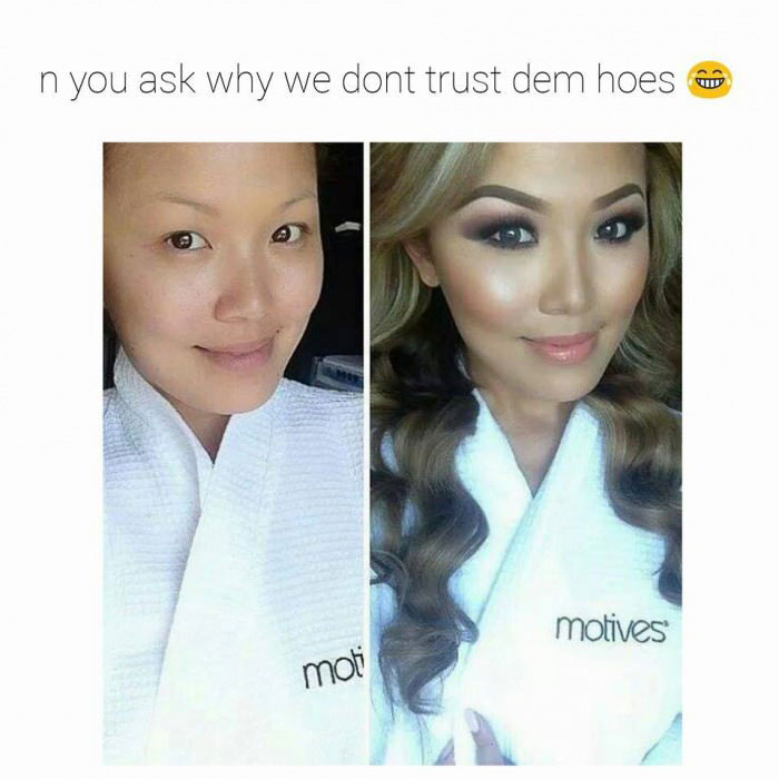 n you ask why we don't trust den hoes, make up