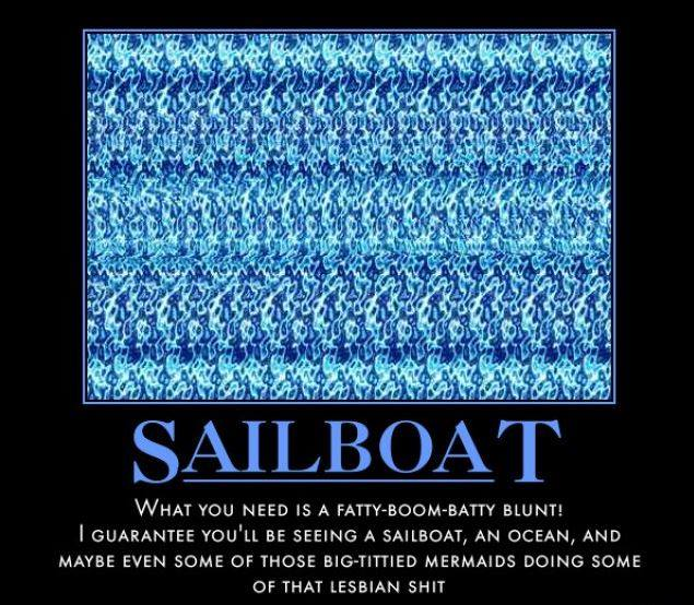 only people who can see magic eye graphics will know, sailboat