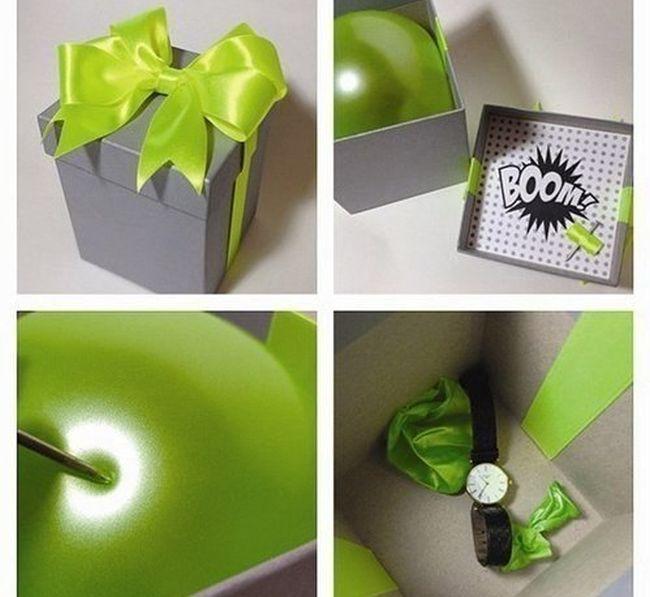 Как сделать своими руками необычный подарок