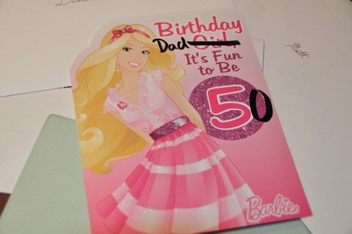 birthday dad it's fun to be 50, seems legit, princess birthday card for a girl hacked irl