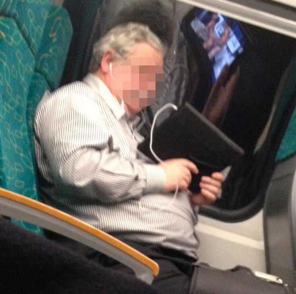 when trying to hide the porn on your ipad reflects your real behaviour