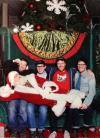 best christmas photograph with santa claus ever