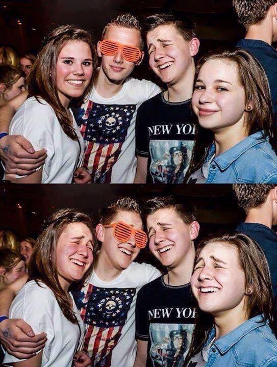 party photobomb face swap