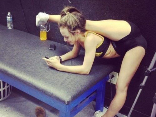 when college girls are really flexible