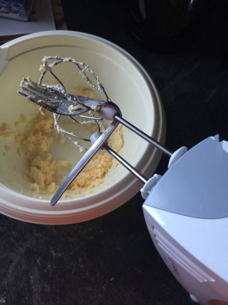 ever have one of those days?, egg beater versus a fork