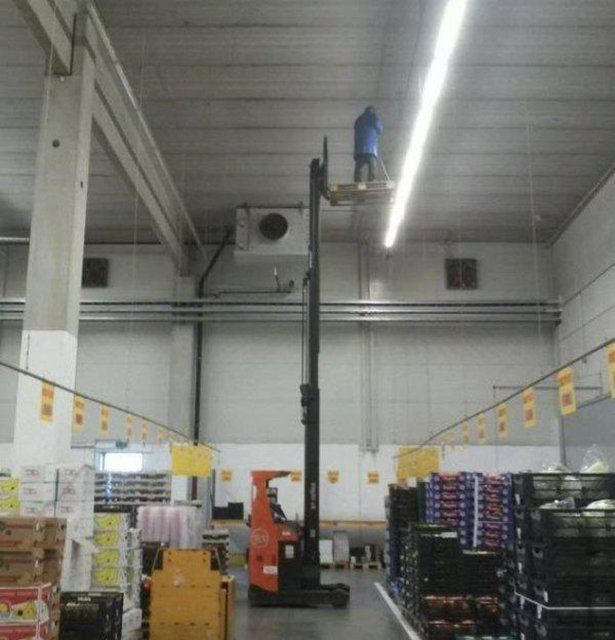 when work safety means something else at your job