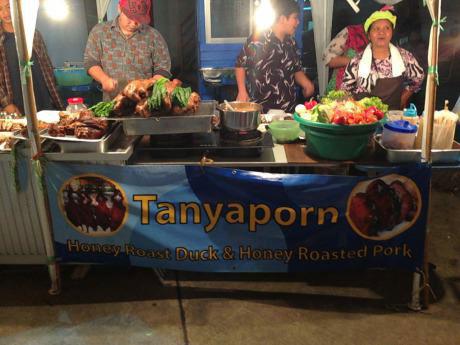 tanyaporn food stand, awkward name, wtf