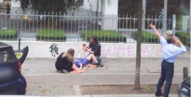 the miracle of childbirth caught on google street view