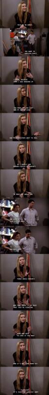 phoebe from friends on family and parenting, da feels