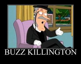 buzz killington, motivation, family guy