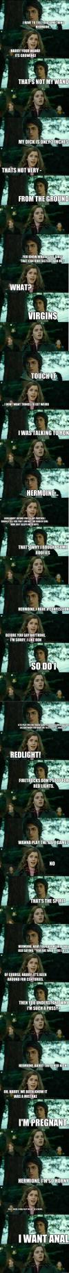 horny harry potter and hermione granger meme compilation