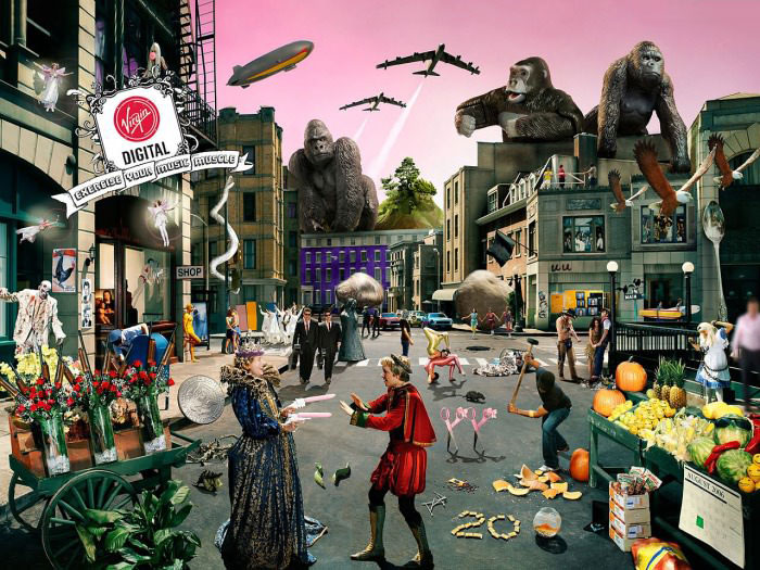 can you name the 47 bands that are in this picture?
