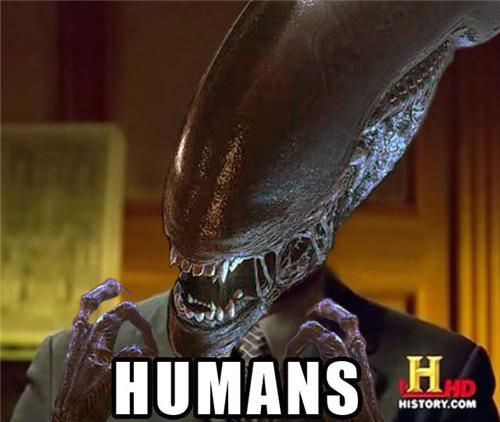 humans, alien doing the aliens meme, history channel hd