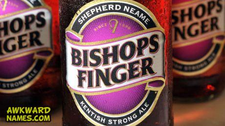 sheperd neame bishops finger, worst beer name ever