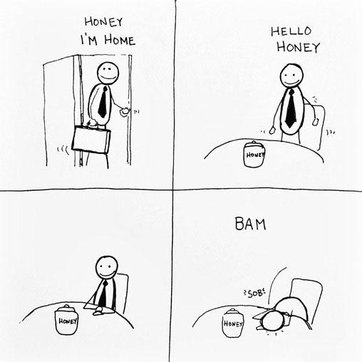 honey i'm home, hello honey