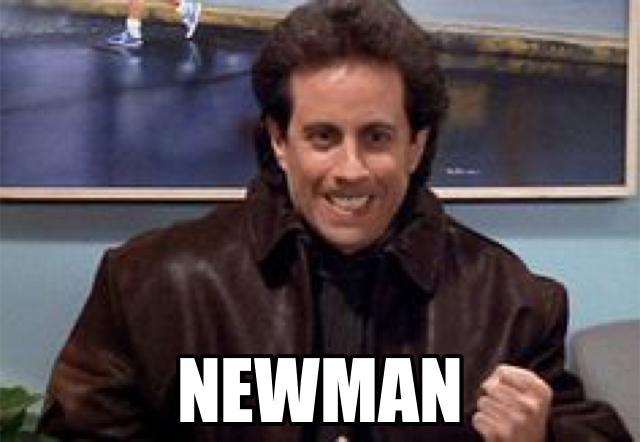 seinfeld saying newman, meme