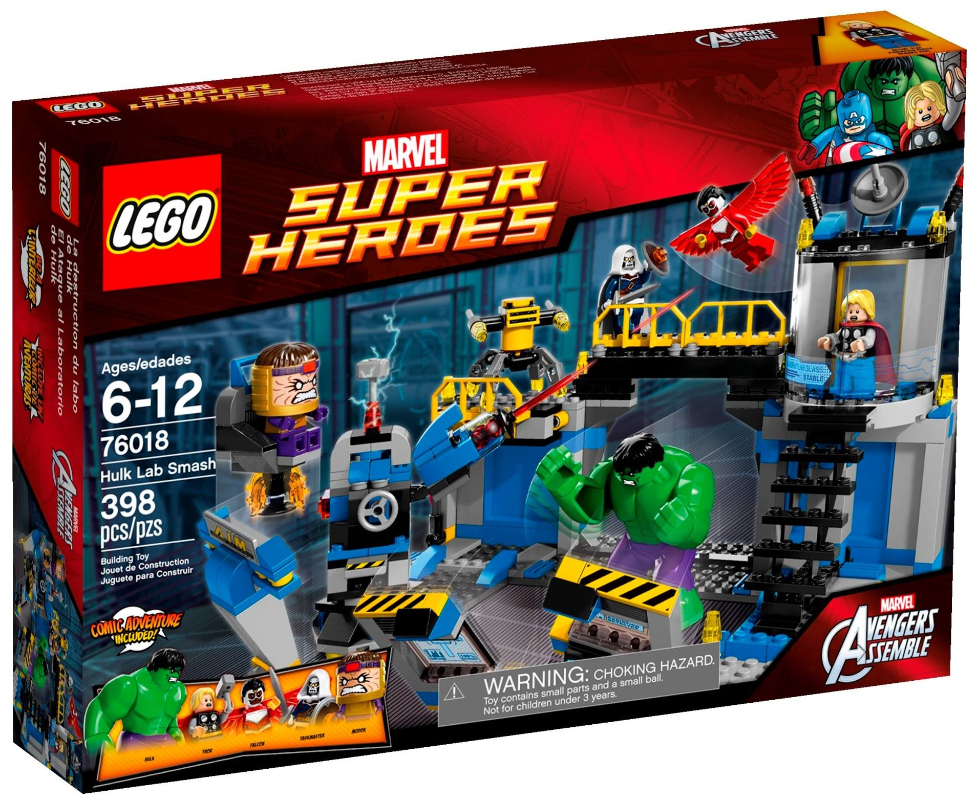 marvel super heroes lego set