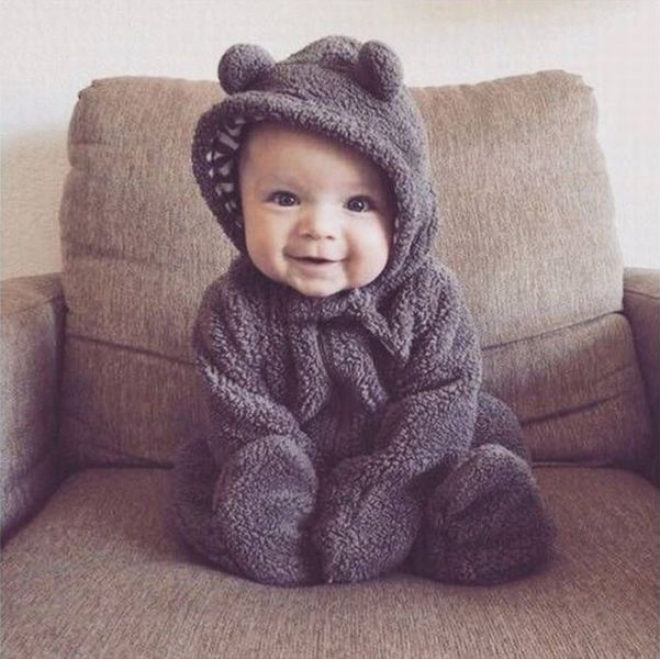 just a cute little baby bear