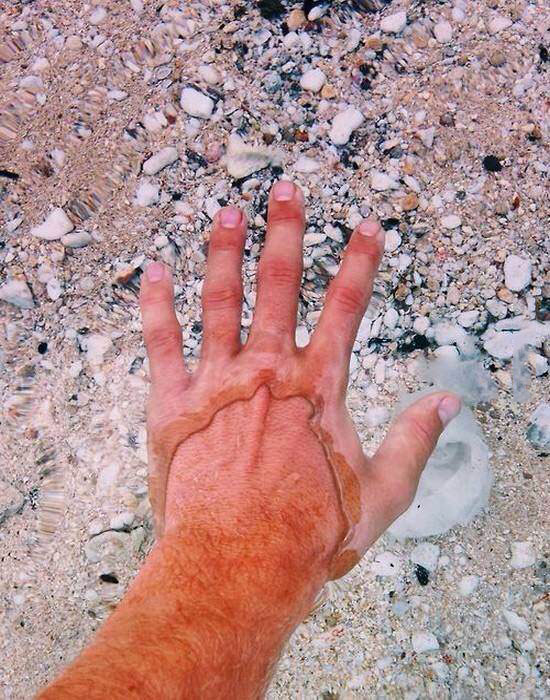 this is what crystal clear water looks like