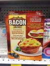 perfect bacon bowl, everything tastes better in a bacon bowl, as seen on tv product