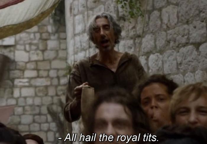 all hail the royal tits