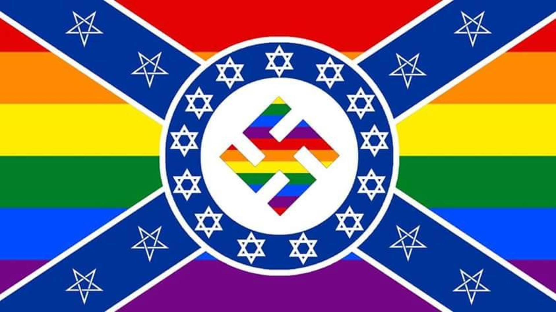 the most offensive flag ever, let's offend everyone at once!