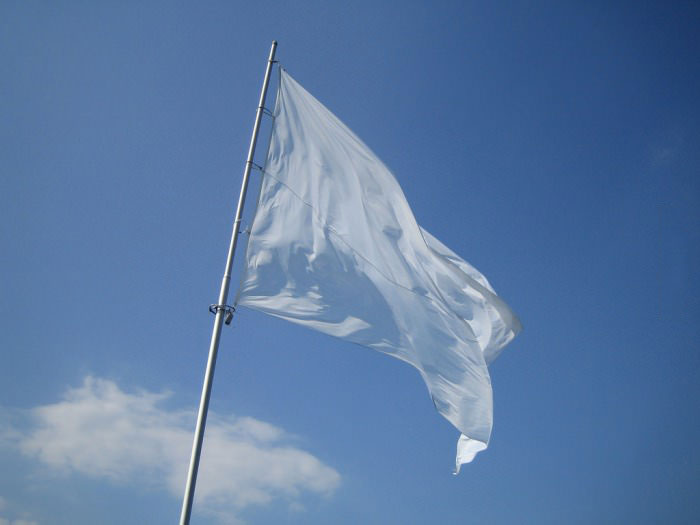 this is the real last confederate flag, white