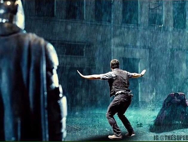 batman versus superman versus chris pratt