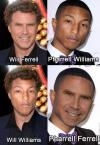 will ferrell, pharrell williams, will williams, pharrell ferrell