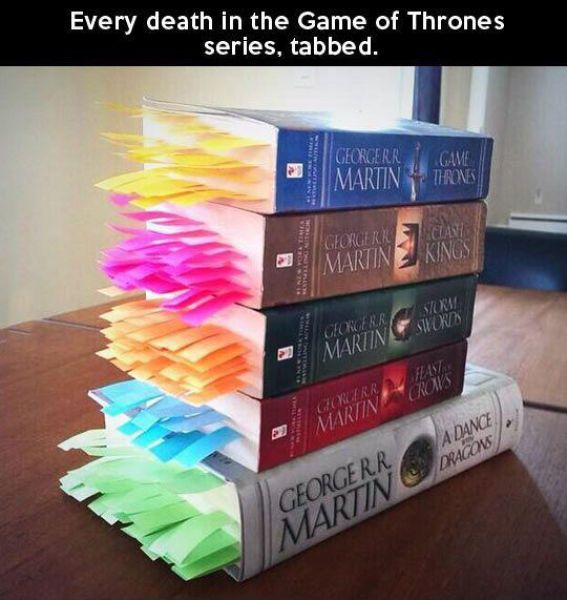 ... death in the game of thrones series tabbed - Jul 09 2015 09:18 PM