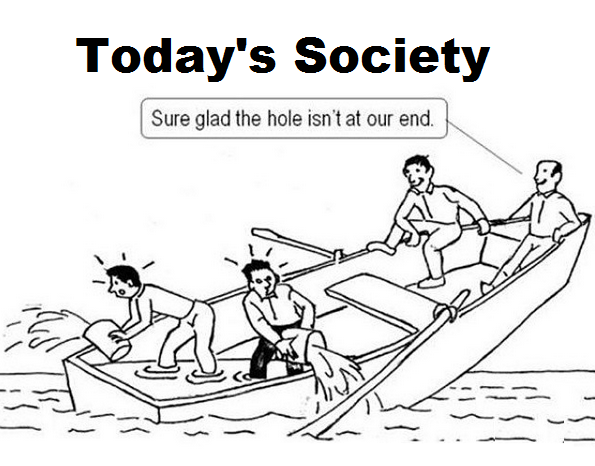 sure glad the hole isn't at our end, today's society