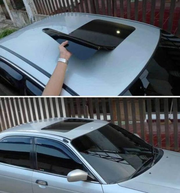 fake sunroof for your car
