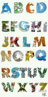 if this is how they taught us the alphabet school would have been much more interesting