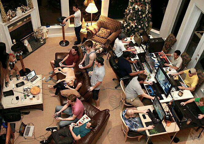 this is what a real lan party looks like