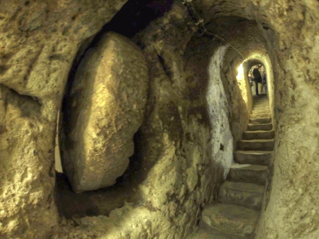 man finds a 2700 year old city under his basement