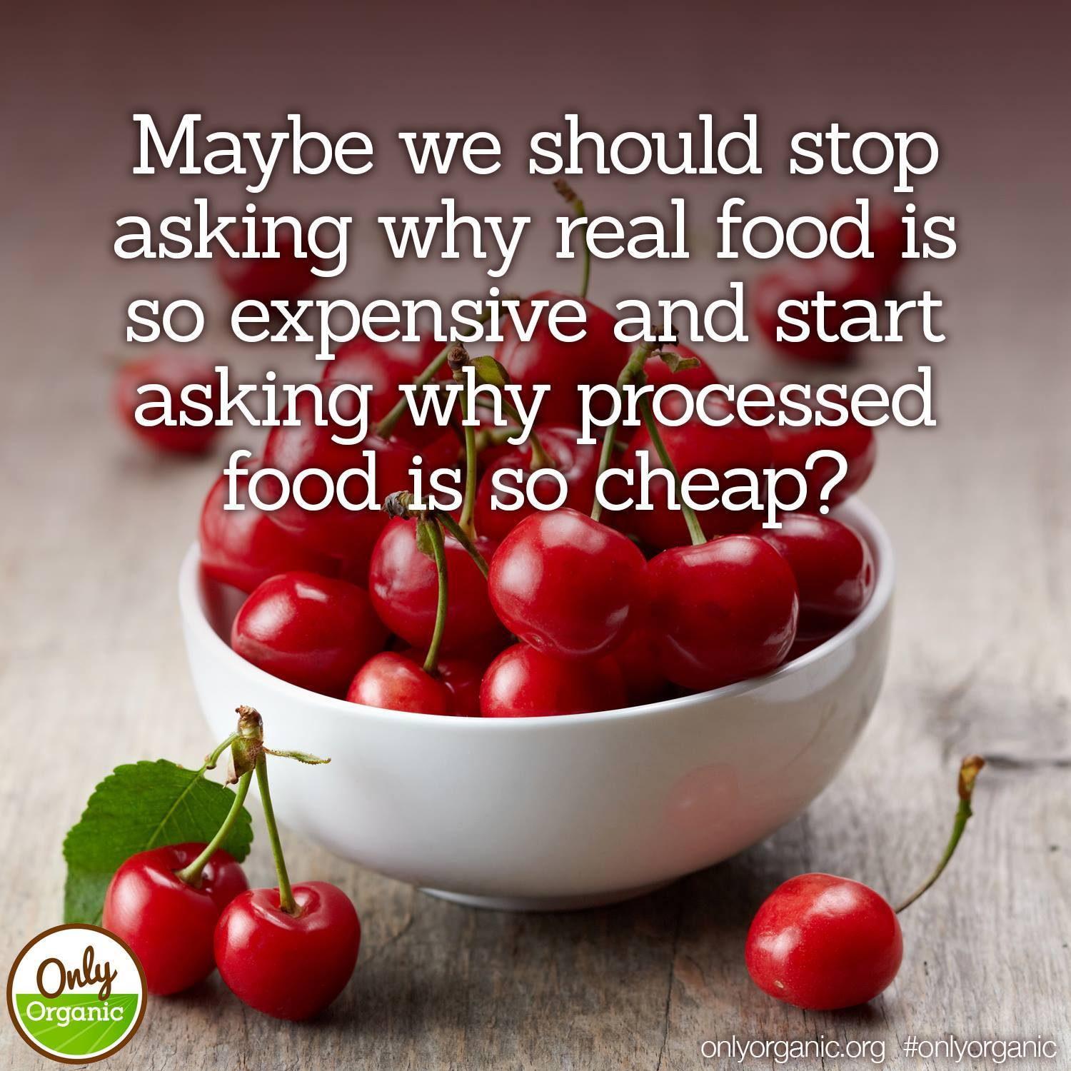 maybe we should stop asking why real food is so expensive and start asking why processed food is so cheap