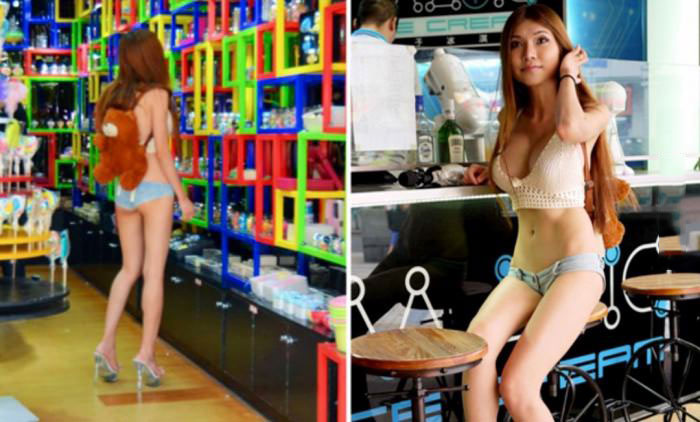 the latest trend for women in singapore, bikini clothes
