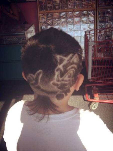 Sonic The Hedgehog Hair Art Justpost Virtually Entertaining