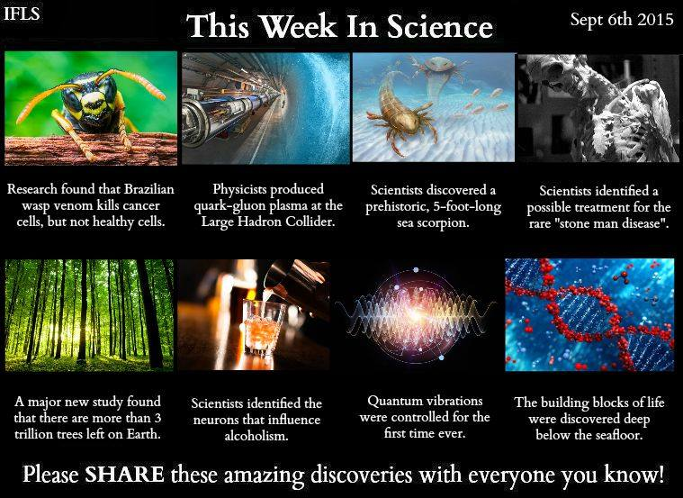 this week in science september 6th 2015