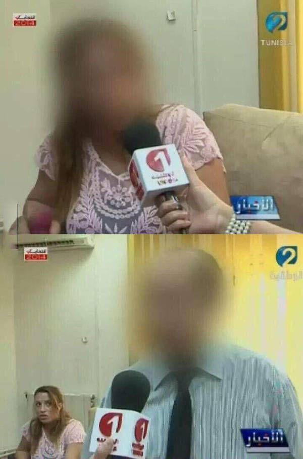 worst face blurring ever, news interview fail