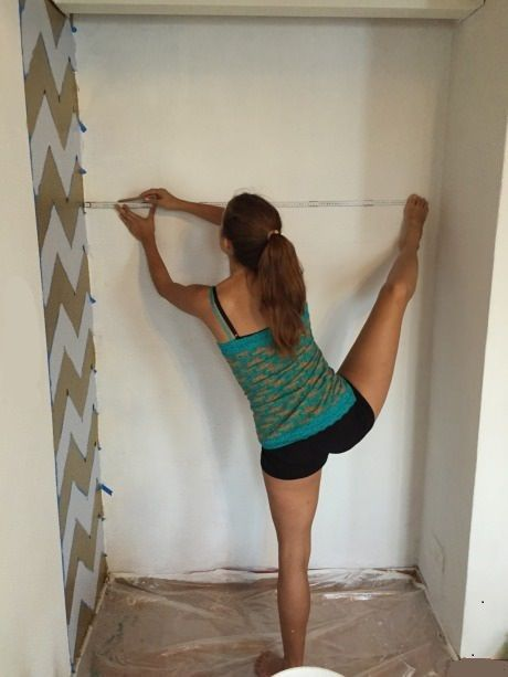 when you're fixing up the apartment and your flexibility comes in handy