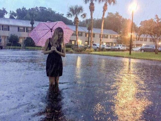 when an umbrella just doesn't cut it