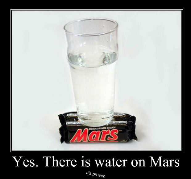 yes there is water on mars, motivation, its proven