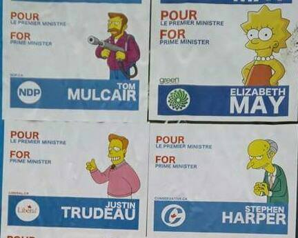 federal canadian elections chart