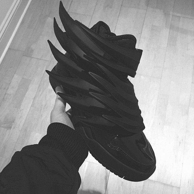 the dark knights of adidas, epic shoe
