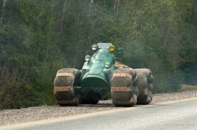 this tractor came from another world