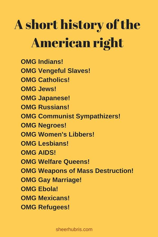 a short history of the american right