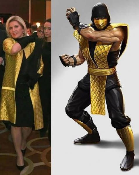 Scorpion And Sub Zero From Mortal Kombat Justpost Virtually Entertaining