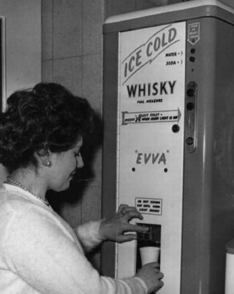ice cold whisky vending machine